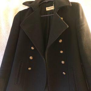 Sant Laurent women's pea coat